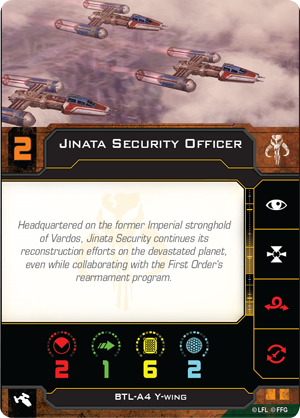 Jinata Security Officer