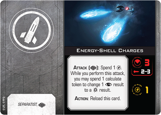 Energy-Shell Charges