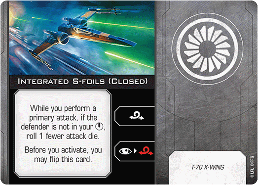Integrated S-foils