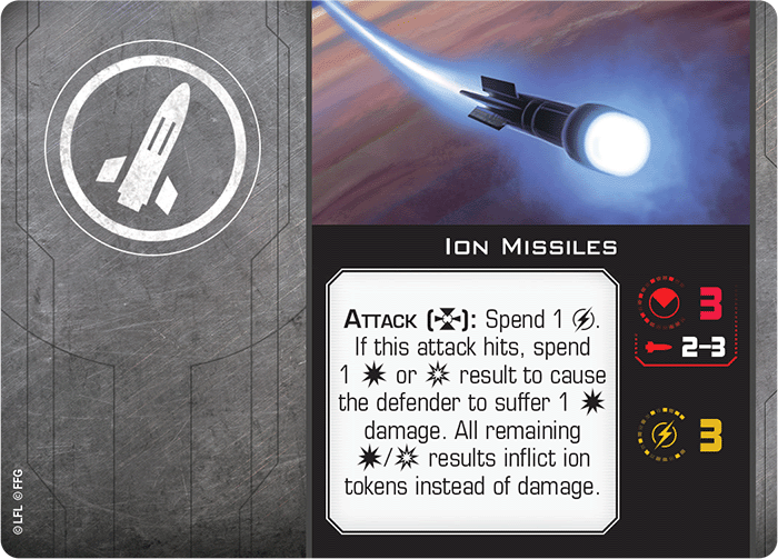 Ion Missiles