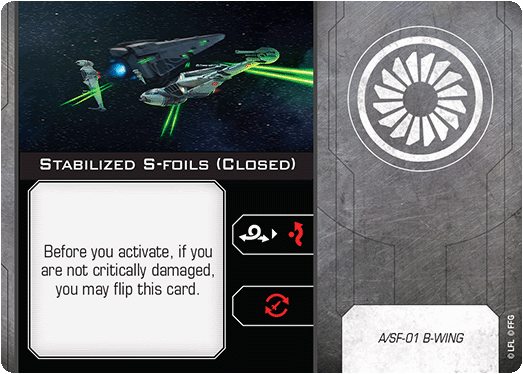 Stabilized S-foils